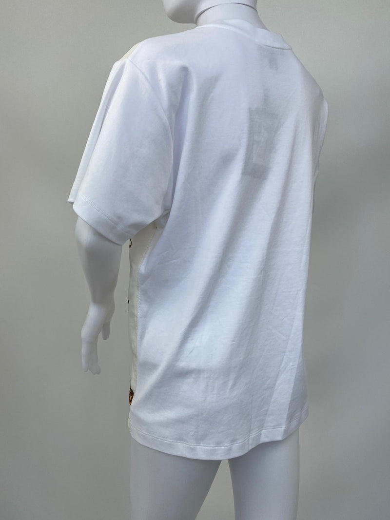 Travel Bi-Material Jersey T-Shirt