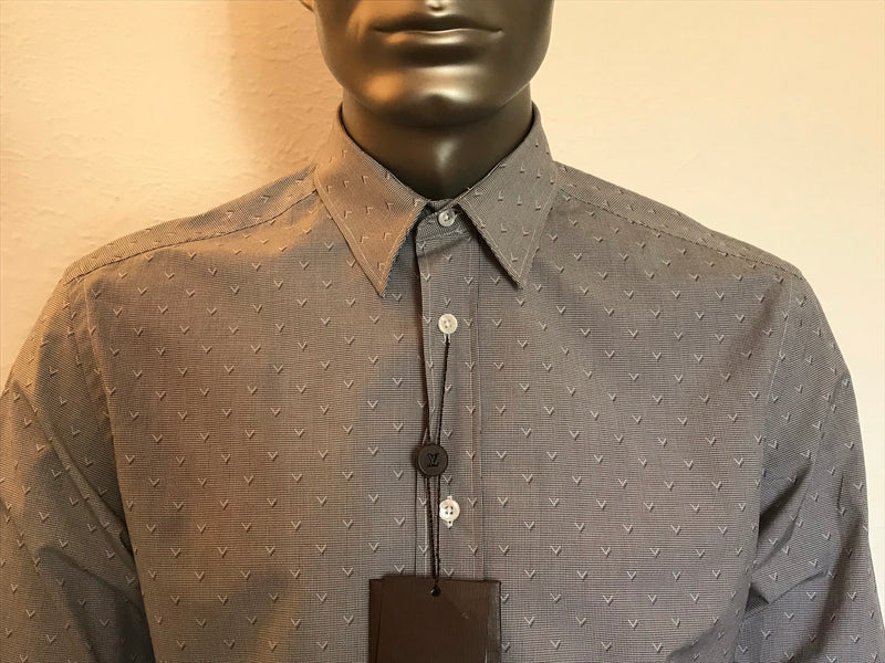 Louis Vuitton Check V Print Shirt - Luxuria & Co.