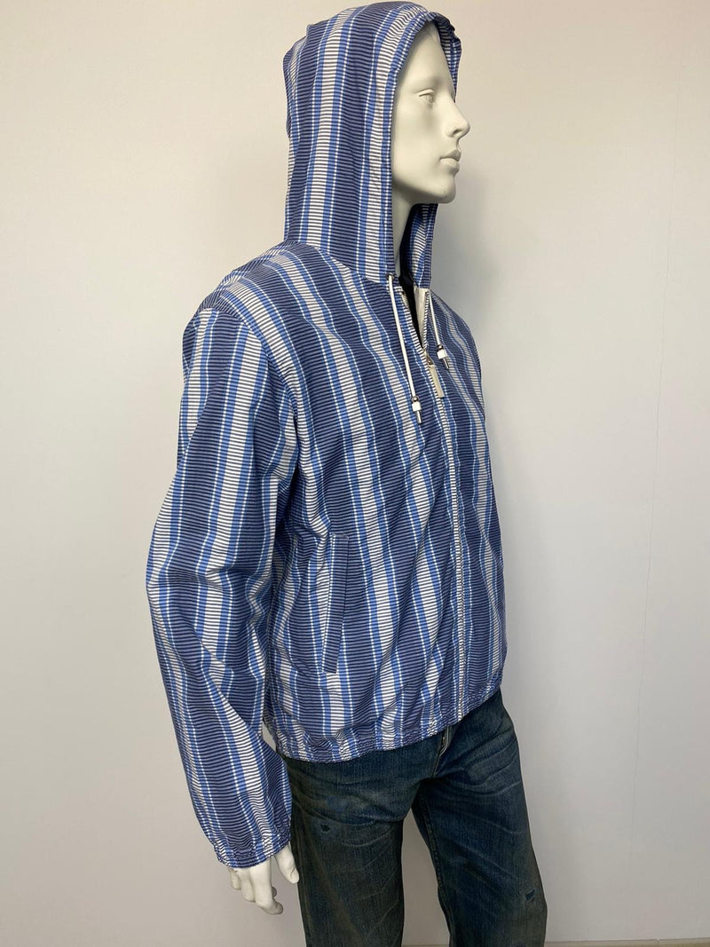 Louis Vuitton Striped Hooded Jacket - Luxuria & Co.