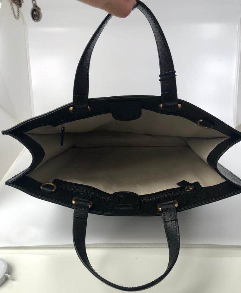 Bee Star Leather Tote