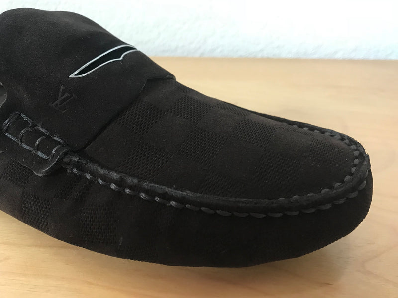 Louis Vuitton Shearling Shade Car Shoe - Luxuria & Co.