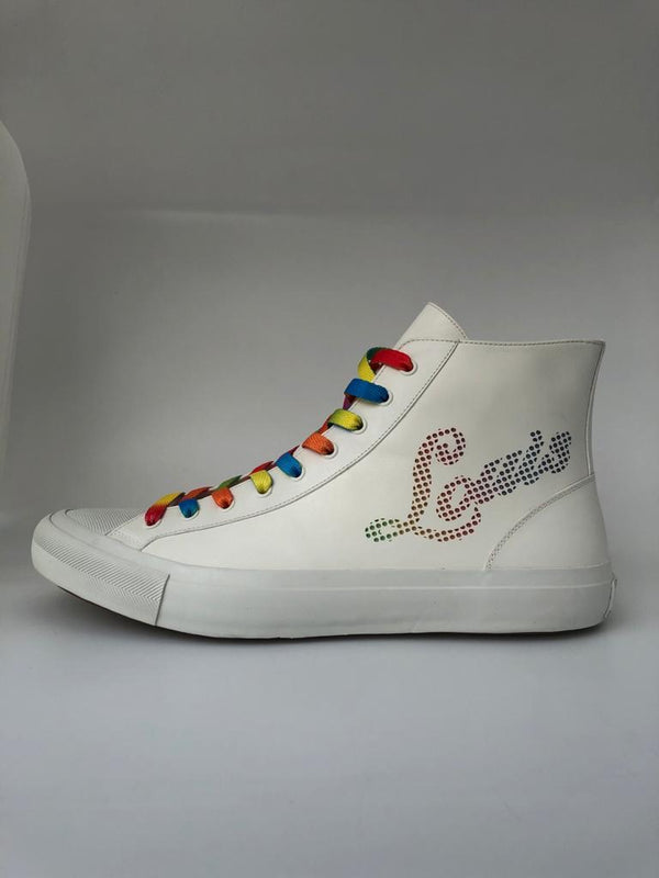 Luxuria & Co. Tattoo Sneaker Boot Multicolor - Luxuria & Co.