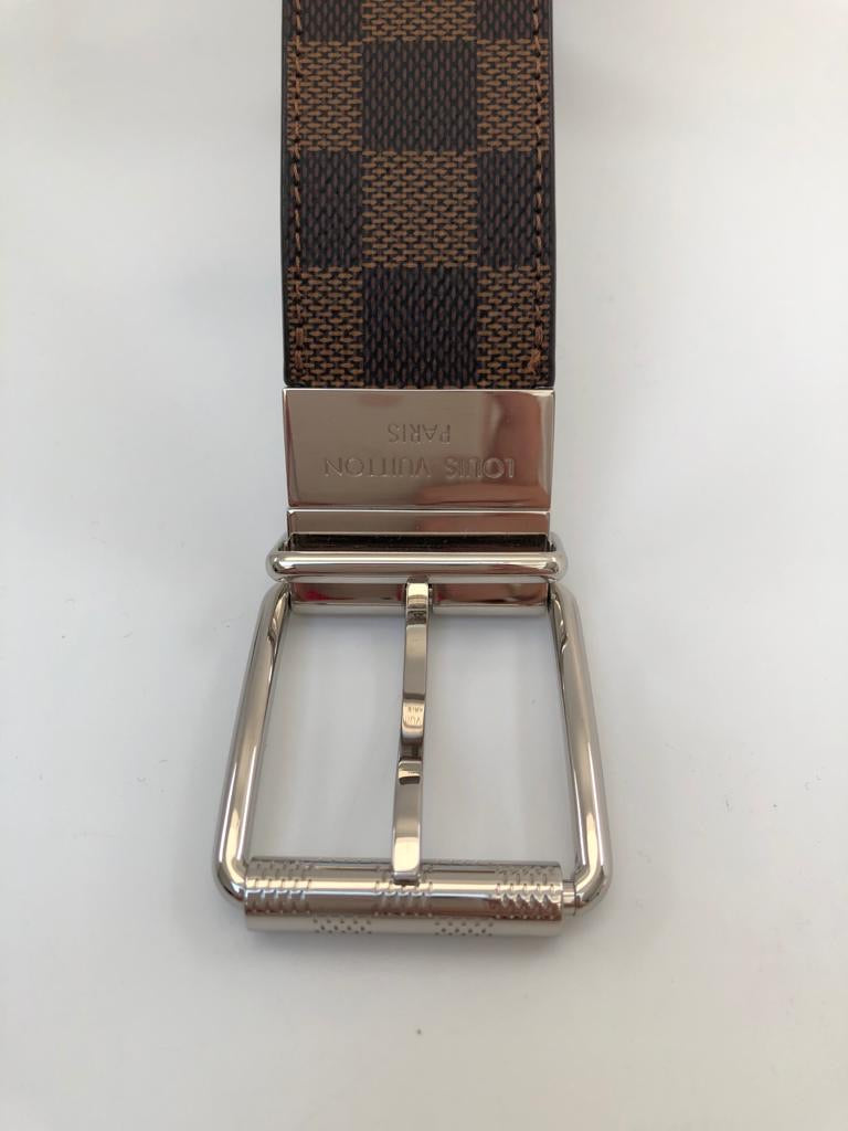 Louis Vuitton Reversible Damier Ebene Belt - Luxuria & Co.