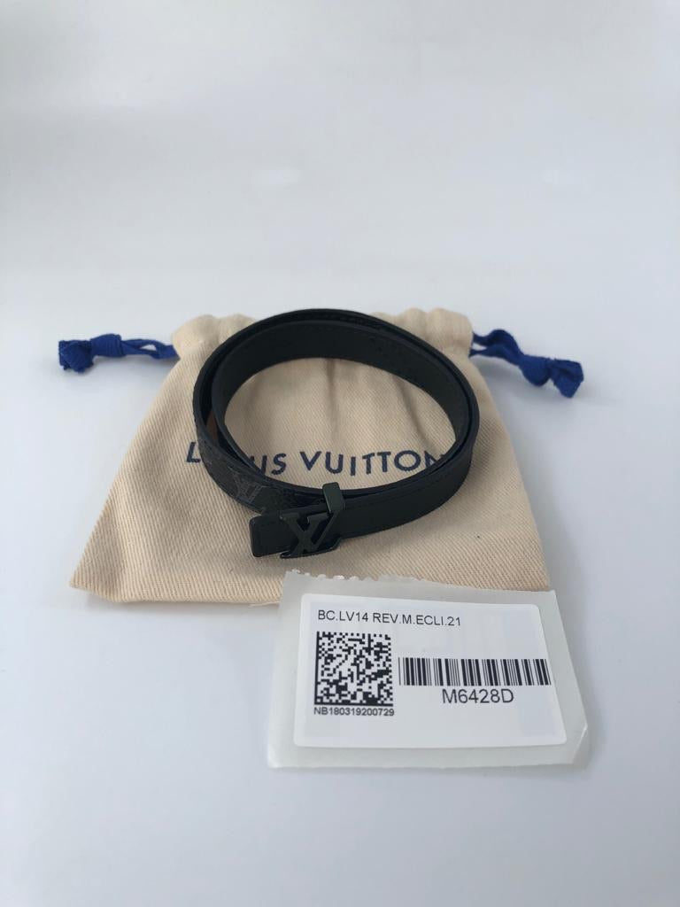 Louis Vuitton LV Initiales 14 MM Reversible Bracelet - Luxuria & Co.