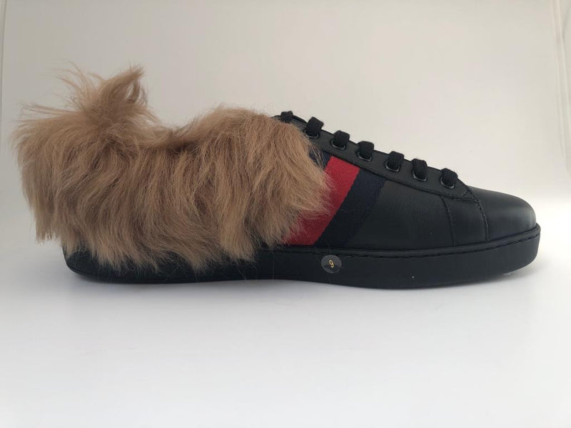 Ace Sneakers With Fur