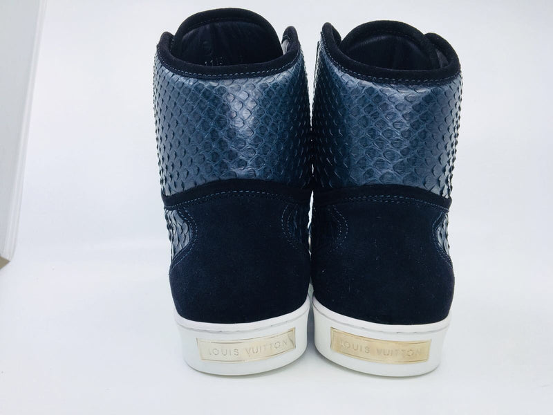 Louis Vuitton On The Road Sneaker Boot Python Skin - Luxuria & Co.