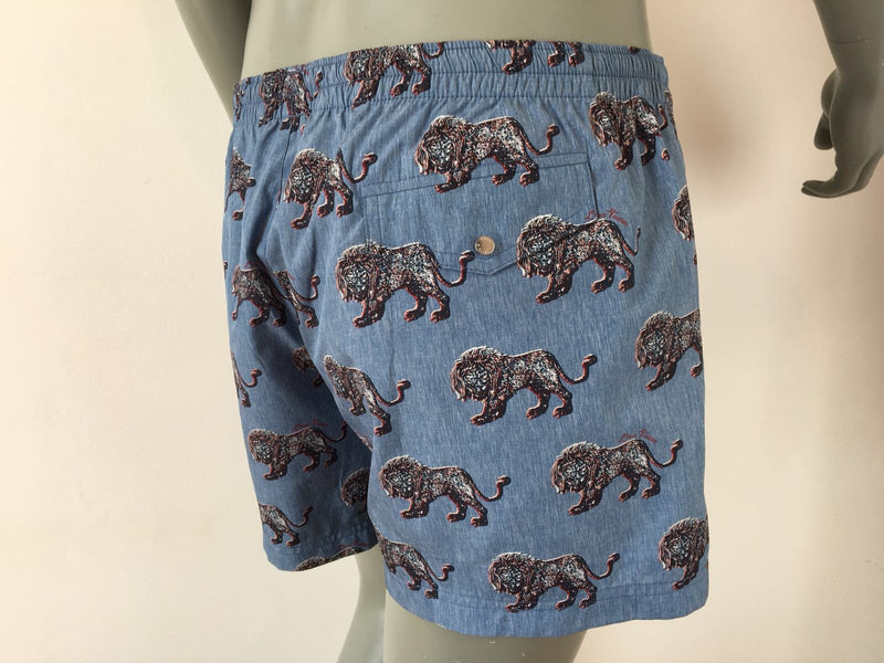 Louis Vuitton Chapman Lion Swim Shorts - Luxuria & Co.