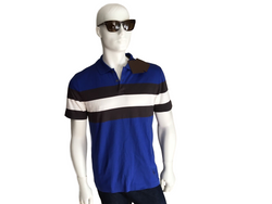 Louis Vuitton Striped Jacquard Polo - Luxuria & Co.
