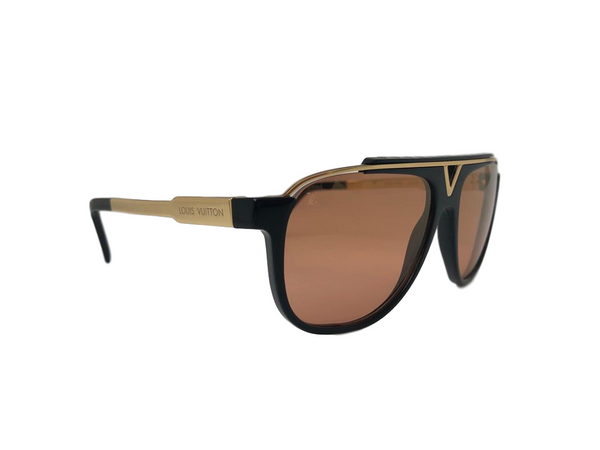Louis Vuitton Mascot Black Orange Sunglasses - Luxuria & Co.