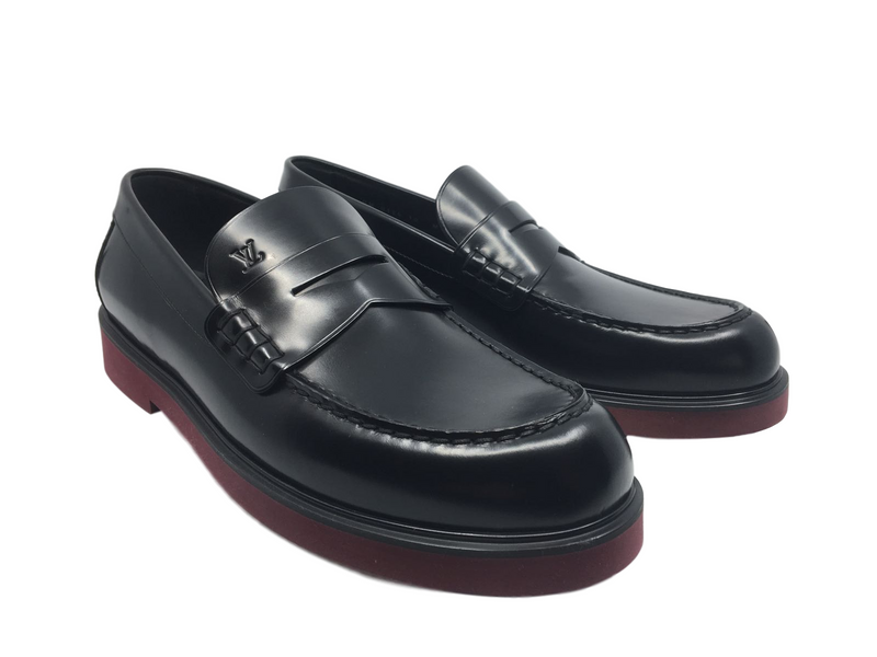Louis Vuitton Officer Loafer - Luxuria & Co.