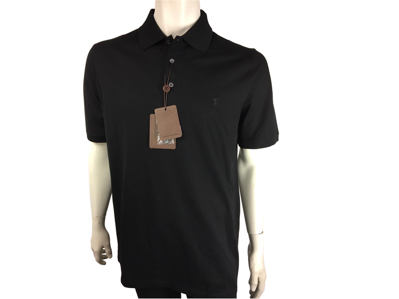 Louis Vuitton Classic Short Sleeve Pique Polo - Luxuria & Co.
