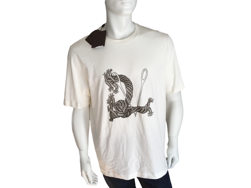 Louis Vuitton LV Rope Flock Tee-Shirt - Luxuria & Co.