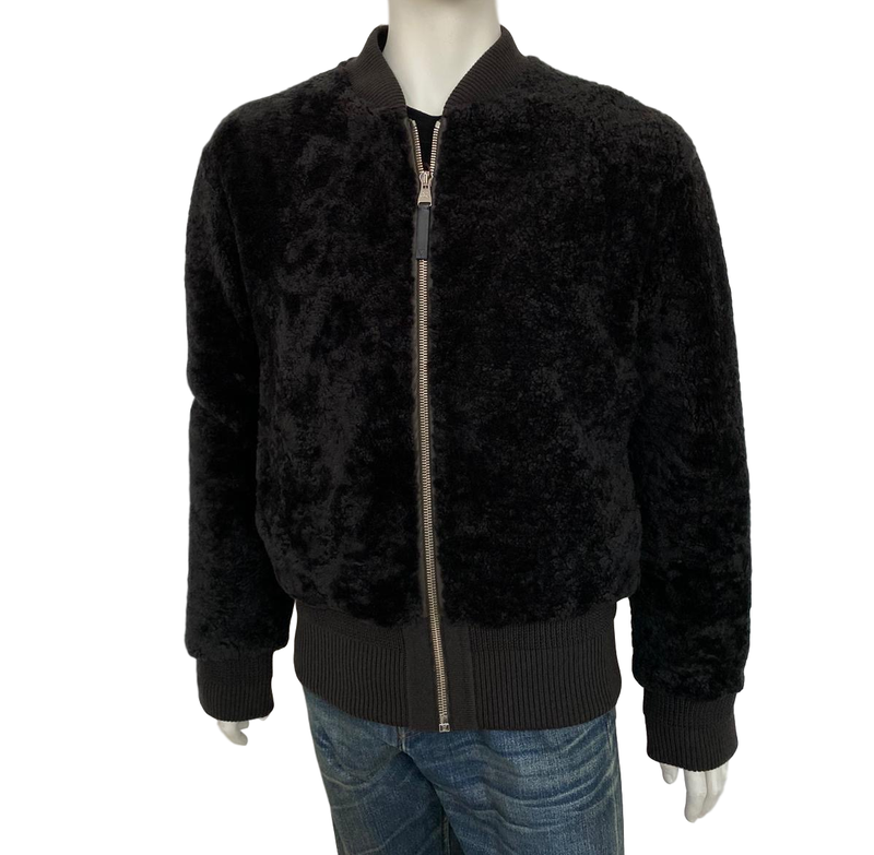 Louis Vuitton Shearling Bomber - Luxuria & Co.