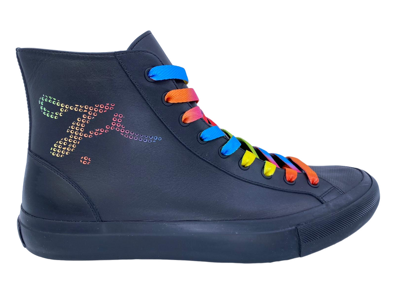 Tattoo Sneaker Boot Multicolor