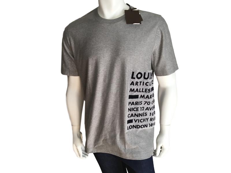Louis Vuitton Velours Jacquard Tee - Luxuria & Co.