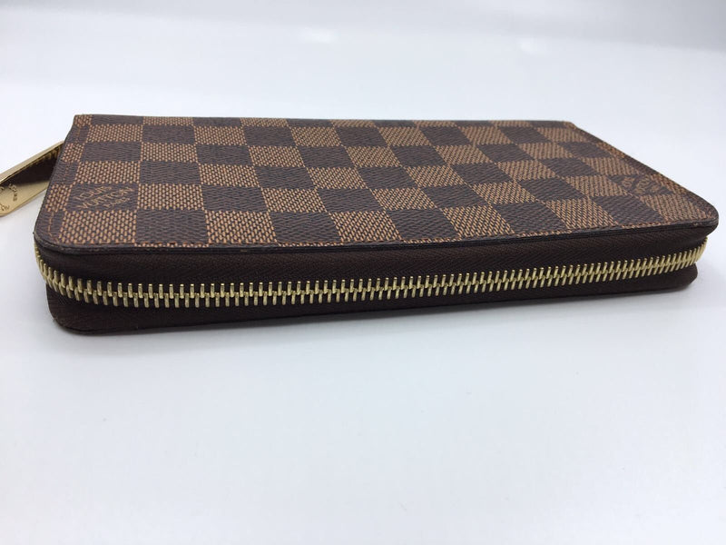 Zippy Wallet Damier Ebene Canvas - Luxuria & Co.