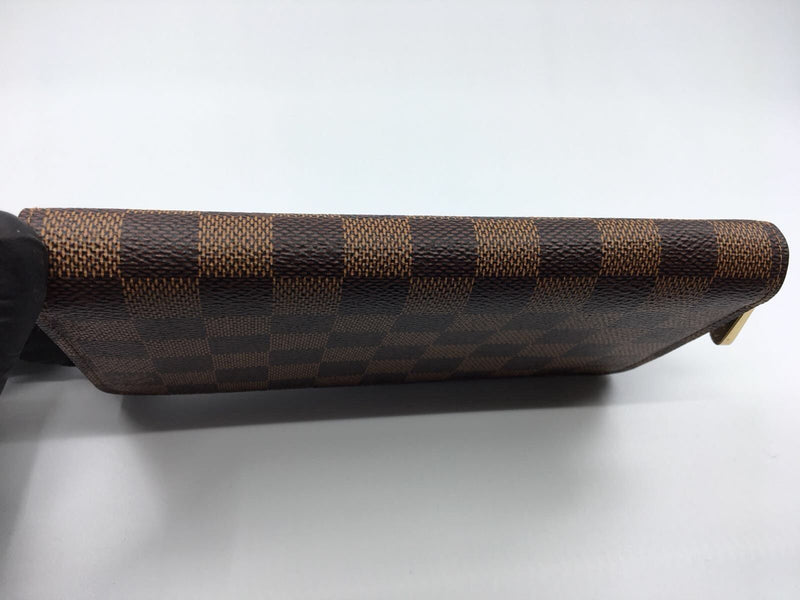 Louis Vuitton Zippy Wallet Damier Ebene Canvas - Luxuria & Co.