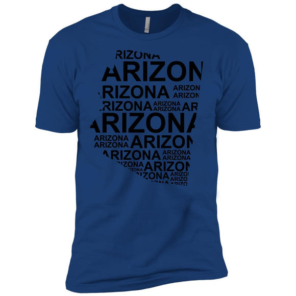 Arizona Premium Short Sleeve Tees - Adult - Premium Short Sleeve T-Shirt / Royal / SM - States T-Shirt