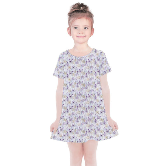 Dandelion Kids Simple Cotton Dress - 2 - Kids Dresses