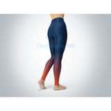 Denver Football Ombre Leggings - Adult Leggings