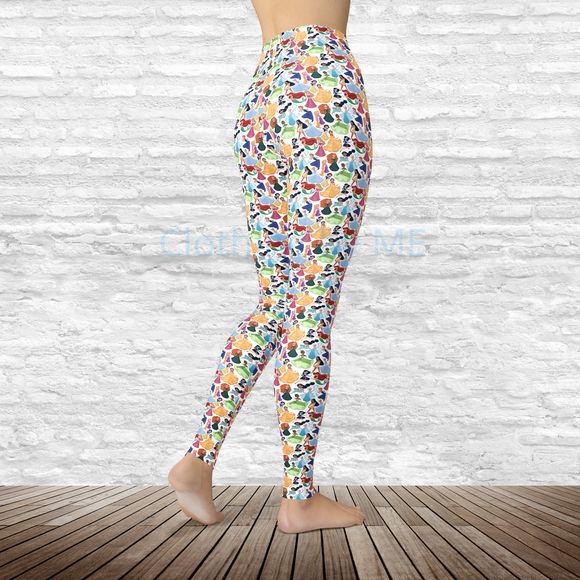 Princesses Leggings - XS - Adult Leggings