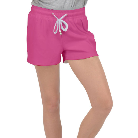 Raspberry Velour Lounge Shorts - XS - Shorts