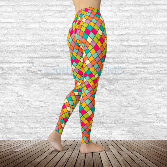 Stained Glass Leggings - Adult Leggings