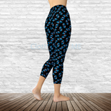 Traditional Sparrow - Capri Leggings - Capris