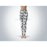 Zebras Leggings - Adult Leggings