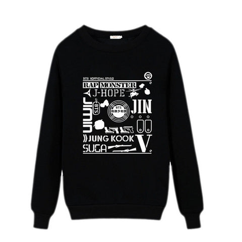 BTS Sweatshirt Black