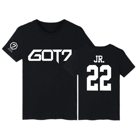 Black GOT7 T-Shirt