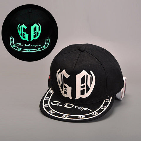 Kpop Light Glowing Cap