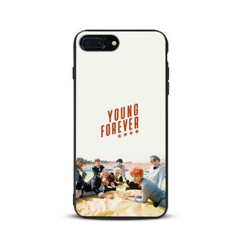 "BTS Phone Case iPhone - ""Young Forever"""