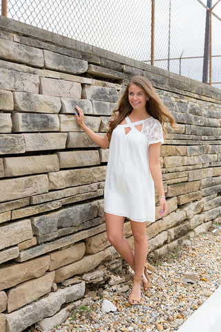 little white dress sundress piace boutique