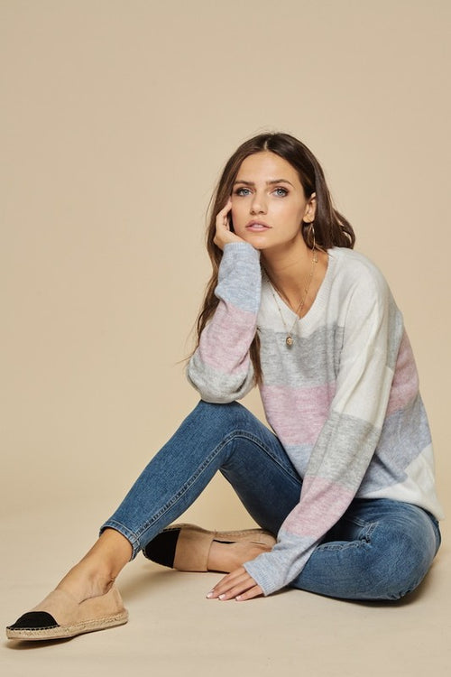 Bowen Colorblock Sweater