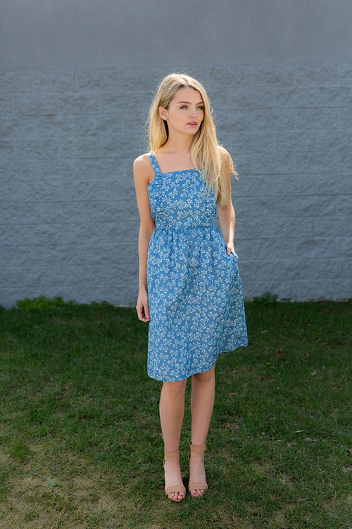 Joanna Floral Dress FINAL SALE