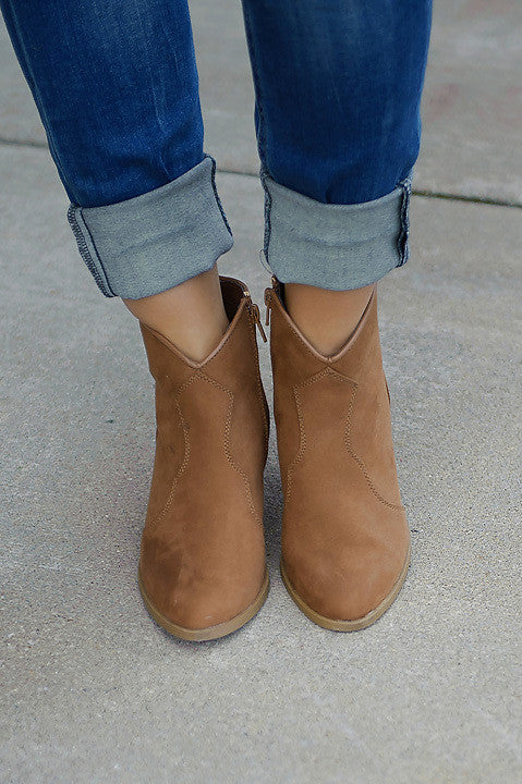 Rover Bootie - Camel (Final Sale)