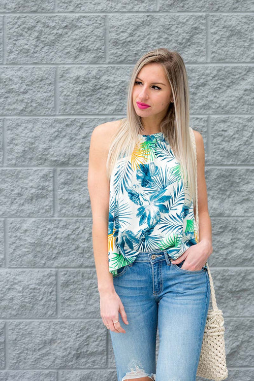 Brynlee Floral Tank FINAL SALE