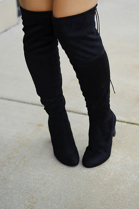 Breeze On By Boot - Black (Final Sale)