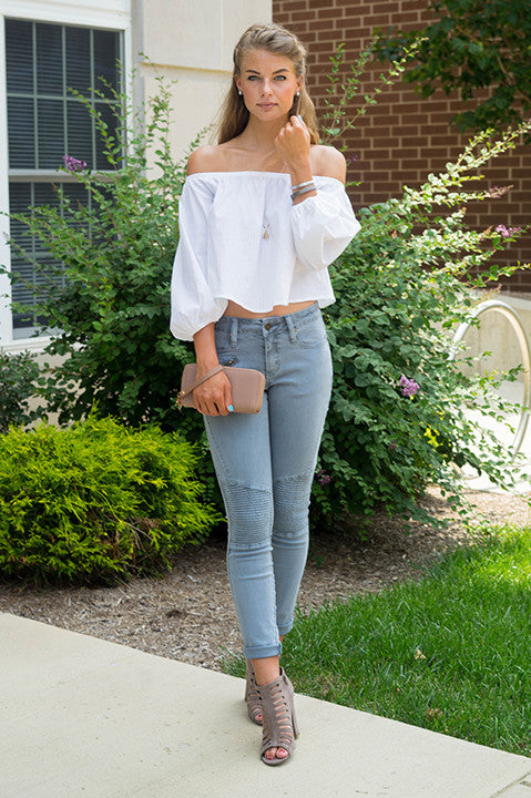 Yes You Do Off Shoulder Top
