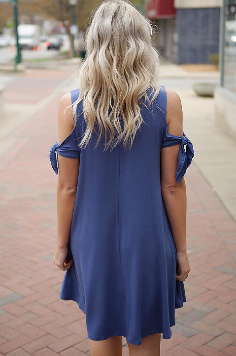 Ultimate Feeling Cold Shoulder Dress