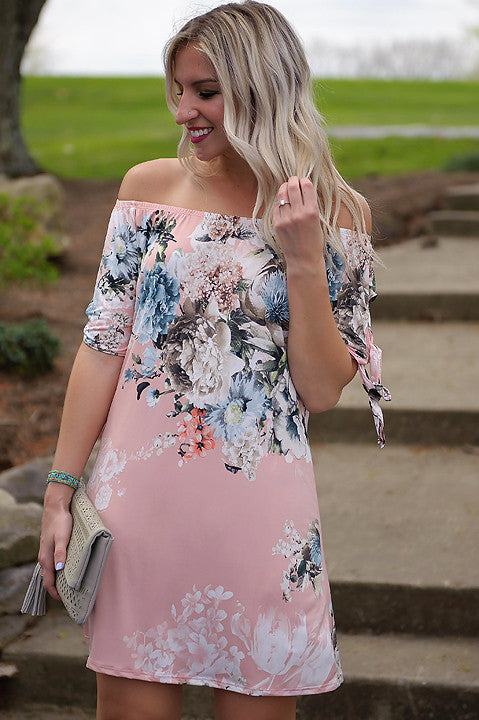 Mandalay Bay Floral Dress (Final Sale)