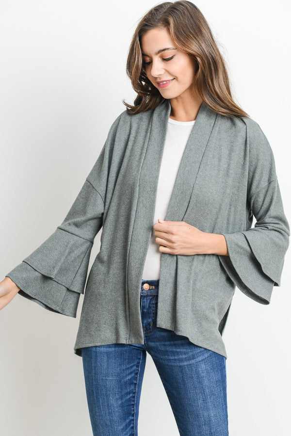 Today's The Day Cardigan (Sage)