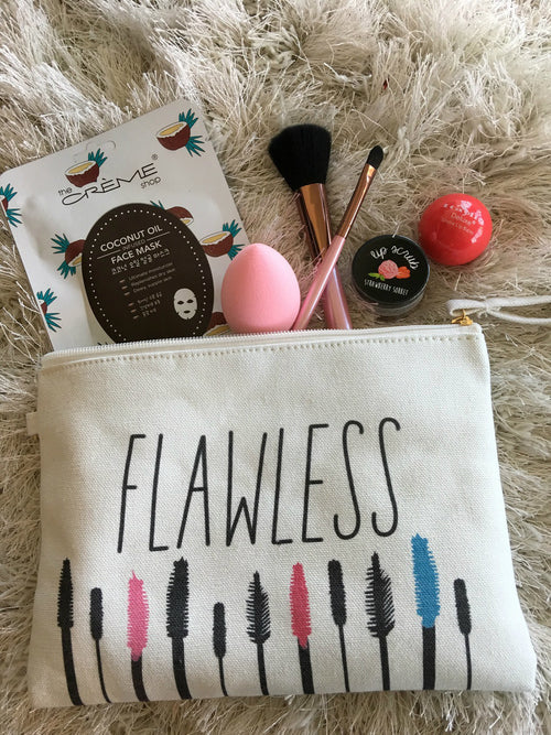 Flawless Make Up Bag And Accessories