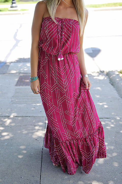 Go Out In Style Maxi Dress