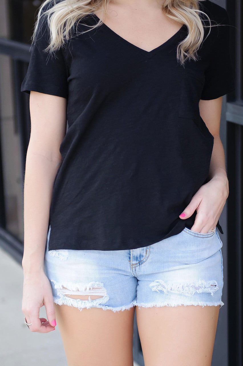 Easy Going V - Neck Tee