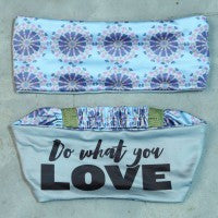 "Sweat Happy with ""Do What You Love"" Headband"