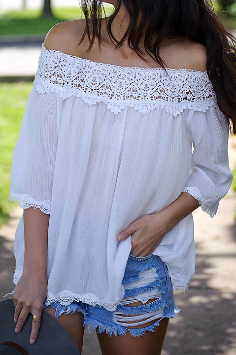 Phoebe Off Shoulder Top