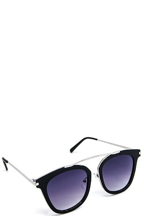 Catch A Glimpse Sunglasses (Silver Frame)