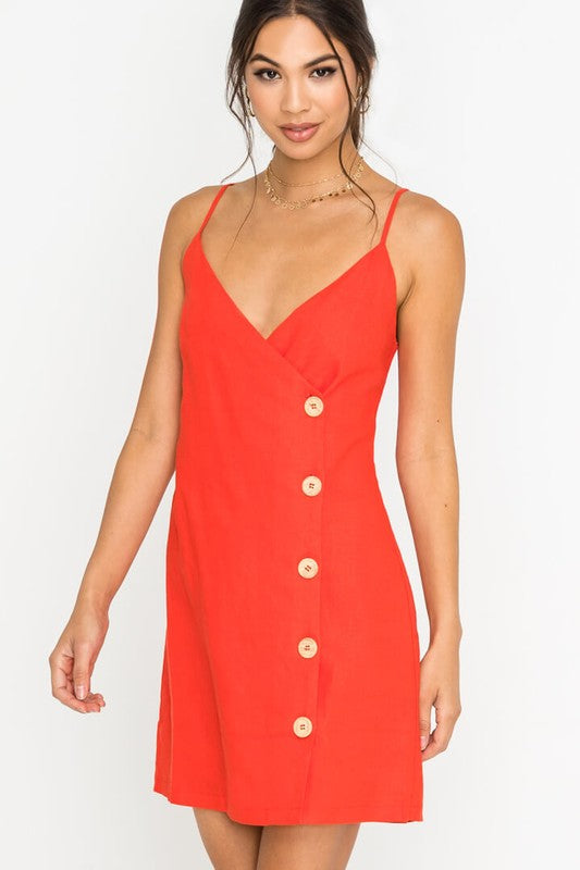 Kaylee Button Front Dress